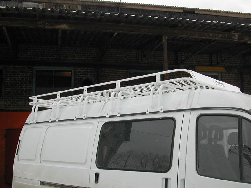 Багажники на крышу автомобиля газель своими руками